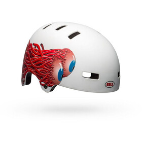 Bell Span Helm Kinder matte white eyes